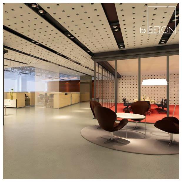 podłogi polerowane z betonu architektoniczne